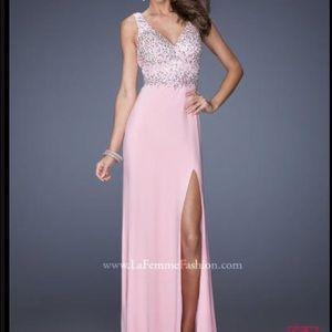 Long gown: never worn. GIGI Designs